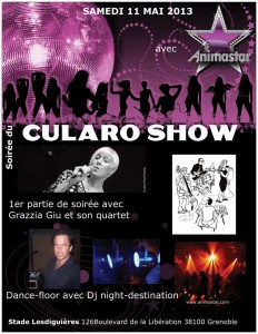 Cularo Show, Grenoble, football